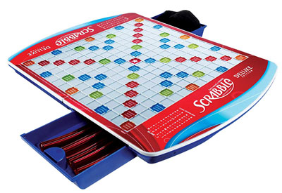 10. Hasbro Gaming 16807F01 Scrabble Board