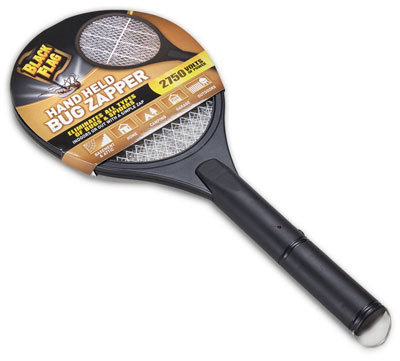 7. Black Flag Handheld Bug Zapper, Black