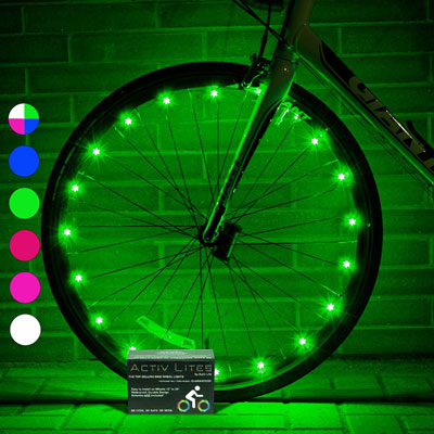 1. Activ Life Safety Bike Wheel Lights