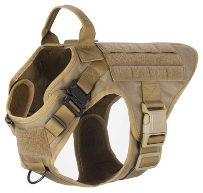 10. Icefang Tactical K9 Dog Harness Leash Attachment