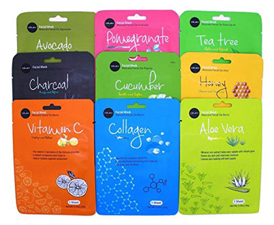 10. CeLavi Korea Moisturizing Collagen Face Mask