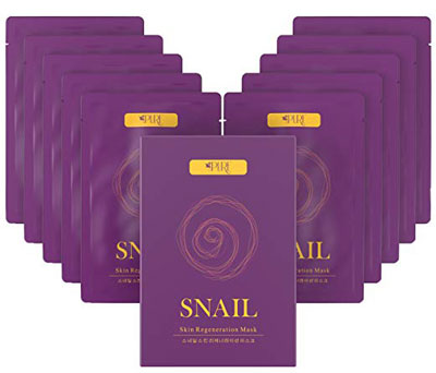 6. La Pure Korean Snail Collagen Face Mask