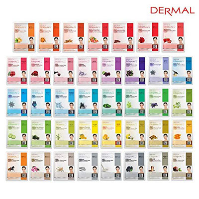 7. Dermal Full Face Collagen Face Mask