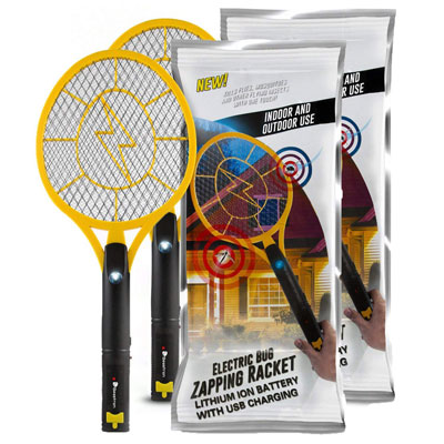 6. Beastron Bug Zapper Rechargeable Mosquito Fly Killer (2 Pack)
