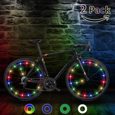 9. Tipeye LED Waterproof Bike Wheel Light