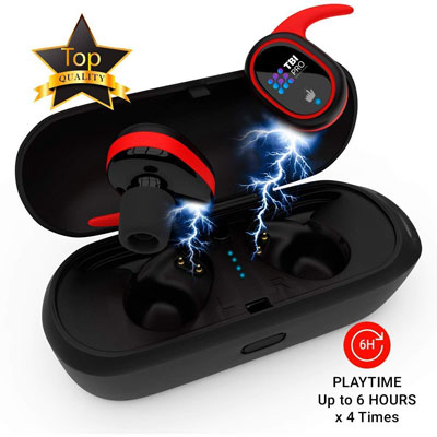 8. TBI Pro Wireless Bluetooth Earbuds