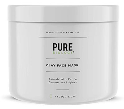 8. Pure Biology Premium Collagen Face Mask