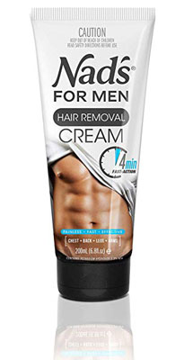 2. Nad's For Men 6.8 Ounces Removal Cream For Men
