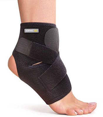 6. Bracoo FS10 Ankle Support Brace Breathable Neoprene