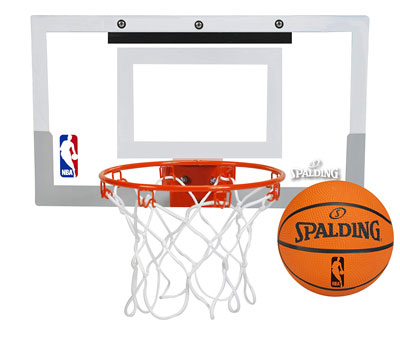 4. Spalding 56099 Over The Door Basketball Hoop
