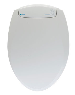 1. Brondell L60-EW Toilet Seat Elongated Nightlight Heated