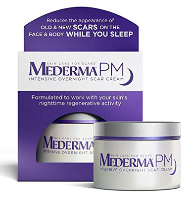 3. Mederma Regenerative Nighttime Overnight Intensive Scar Cream