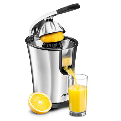 9. Gourmia EPJ100 Stainless Steel Electric 160-W Citrus Juicer