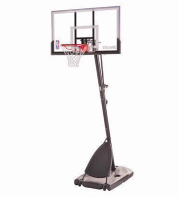 5. Spalding Pro Portable Slam NBA Basketball System 54'' Pole