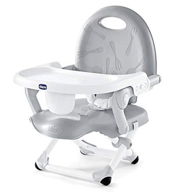 3. Chicco Grey Food Baby Seat Pocket Snack