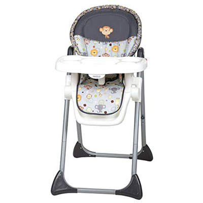 10. Baby Trend Hobble Heads High Chair Sit Right