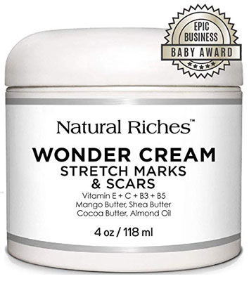 5. Natural Riches 100% Natural 4 Ounces Stretch Marks