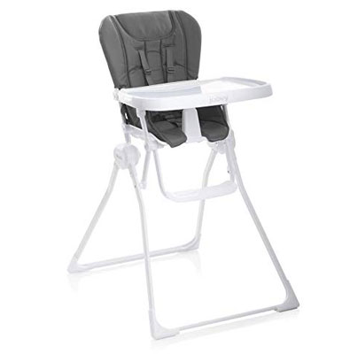 9. Joovy Charcoal High Chair Nook
