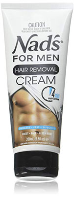 10. NAD's 6.8 Oz Hair Removal Cream Men Pack of Two