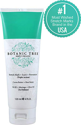 4. Botanic Tree Mark Stretch Cream Prevention and Removal