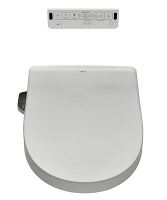 9. American Standard 8012A70GRC-415 Toilet Seat Heated Dual Nozzle