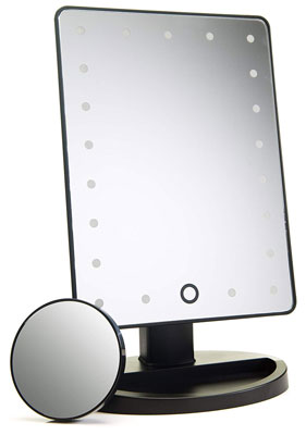 4. Absolutely Lush Daylight Make Mirror Lighted 10X Magnification
