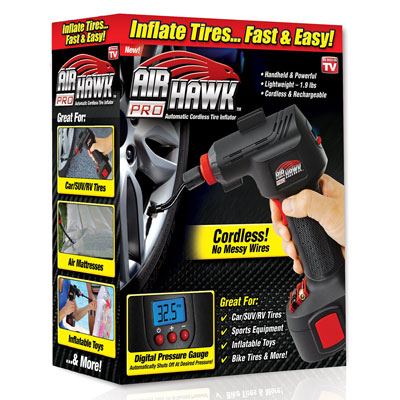 1. As Seen On TV Automatic Portable Tire Inflator Cordless Air Hawk