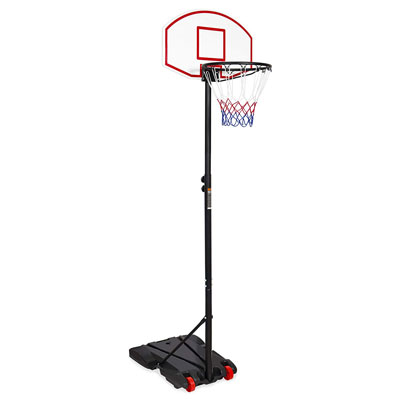 6. Best Choice Products Adjustable Height Basketball Hoop Portable Youth