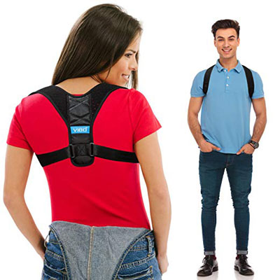 2. VIBO Care Posture Corrector for Men and Women