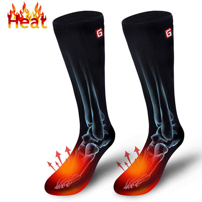 2. Autocastle Battery Powered Warmer Heating Socks Sports Outdoors
