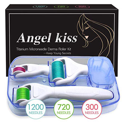 5. Angel Kiss 4-In-1 Face Body Derma Roller Needling Instrument
