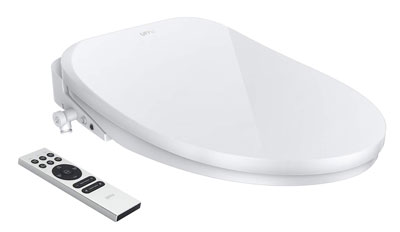 10. UFFU Wireless Bidet Toilet Seat Advanced Self-Cleaning Design