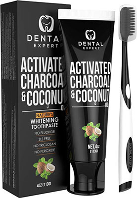 2. Dental Expert Natural Mint Flavor Whitening Toothpaste Herbal Treatment