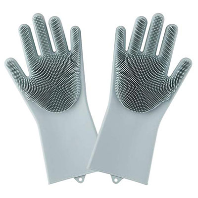 10. tengdal Magic Saksak Silicone Dishwashing Gloves