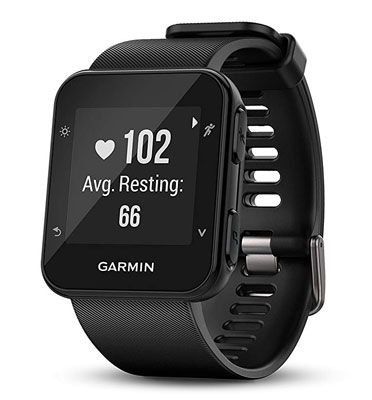 3. Garmin 35 Forerunner GPS Black Running Watch
