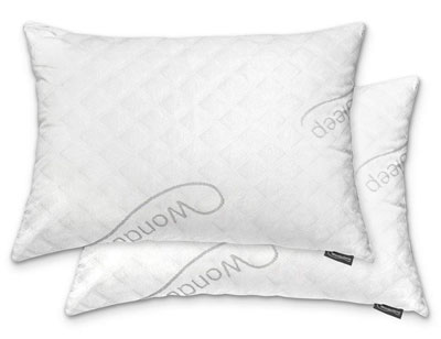3. WonderSleep Loft Shredded Bamboo Hotel and Home Pillow 2 Packs