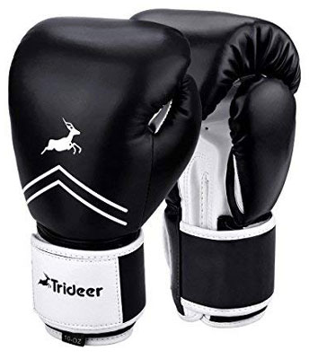 7. Trideer Pro Grade Boxing Gloves