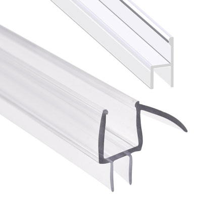 5. Magzo M-3/8 Inch Frameless Glass Door Sweep Stripping