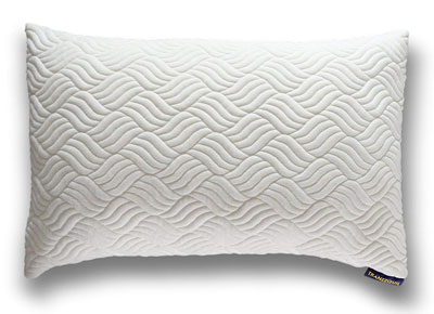7. Tranzzquil Shredded Foam Bed Pillows Hypoallergenic Bamboo Queen Size