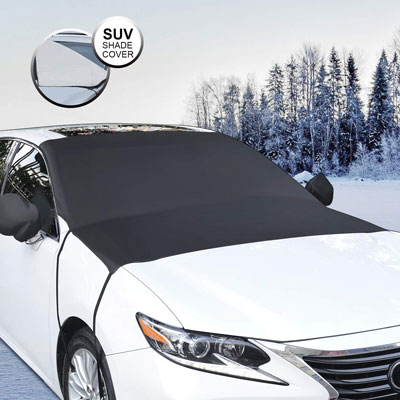 8. Whew Windproof Windshield Snow Cover Sun Shade