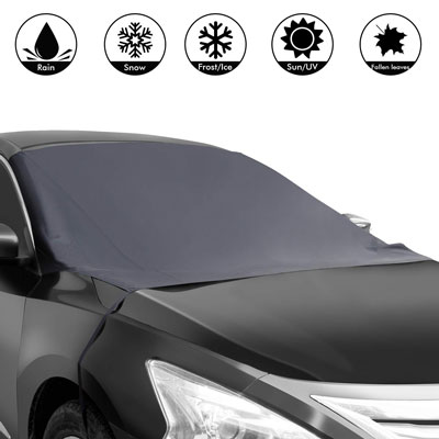 5. Shynerk Car Snow Windshield Cover Waterproof Sun Shade
