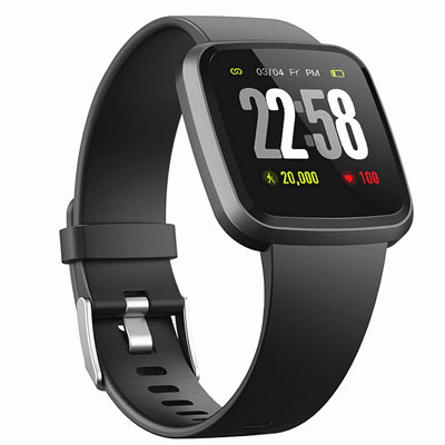 10. DSmart Fitness Watch 2019 Version Activity Tracker