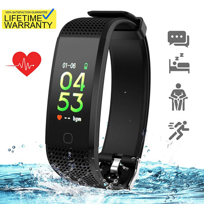 6. SkyGrand Pedometer Fitness Tracker Watch Updated 2019 Version
