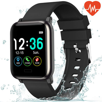 7. L8star Android Fitness Tracker IP67 Waterproof 1.3-Inch Large Screen