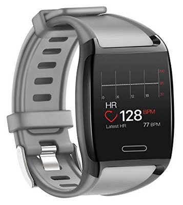 9. HalfSun Activity Fitness Tracker IP67 Waterproof Pedometer