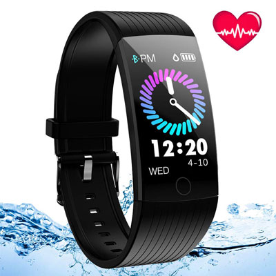 5. Ansgec Activity Fitness Tracker Watch iOS and Android