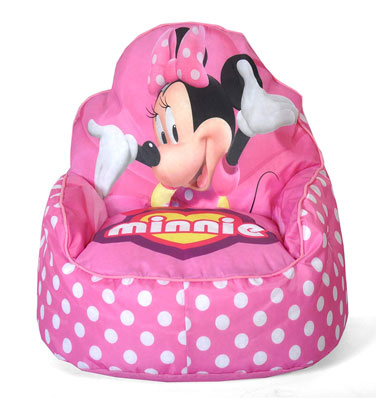 8. Disney Minnie Mouse Toddler Bean Bag Sofa Chair