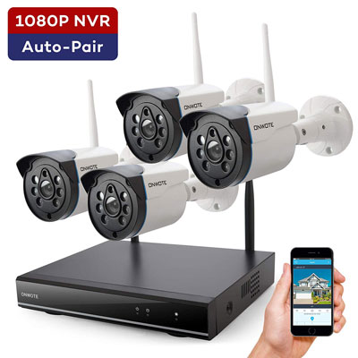 8. ONWOTE Wireless Security Camera System Outdoor