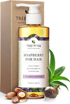 8. Tree to Tub Moisturizing Shampoo for Sensitive Skin