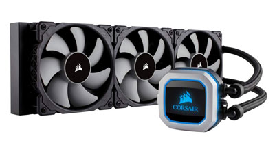 4. Corsair HYDRO AMD AM4 Liquid CPU Cooler